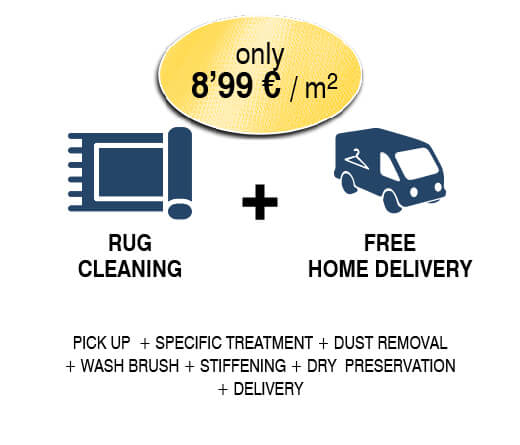 SALE ON RUG CLEANING IN SEVILLE< - RUG CLEANING - ONLY 9,99€/M2 ON LA PLANCHADORA IN SEVILLA